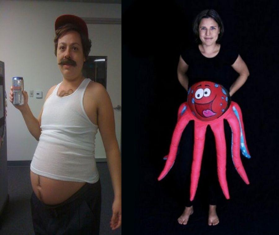 ef2c5a11fc85 DEED.sk - Geniálne nápadité halloweenske kostýmy pre tehotné ženy